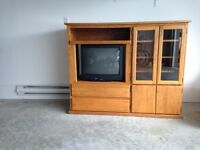 "Free Entertainment Stand and 23"" TV"