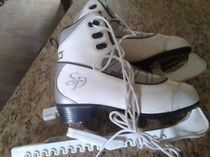 Ladies SP CCM Figure Skates