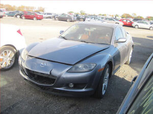 MAZDA RX8(2004/2008/ FOR PARTS PARTS PARTS ONLY)