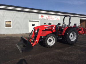 REDUCED LEFTOVER! - McCormick 61 PTO Hp Tractor - NO TAX!!!