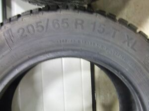 4, 205/65/R15 Studded Winter Tires Strathcona County Edmonton Area image 4