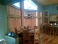Window Blinds 50% off - get your house ready for the holidays