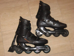 In-line Skates by Rollerblade (72mm, men's size 7.5 - 8)