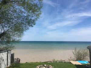 Monday to Friday rentals of entire lakefront home