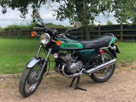 Kawasaki S1B 1974 250cc Early & Rare UK Model. Classic British Motorcycle