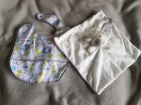 Free baby comforter and bib