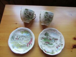 COLLECTIBLE PLATES, BOWLS, CUPS & SAUCERS, ETC. - REDUCED!!!