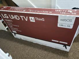 LG UHD TV Al ThinQ 55inch