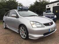 2002 Honda Civic 2.0i Type R Full Service History Excellent Condition