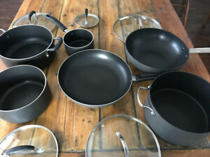 Non-stick pots set