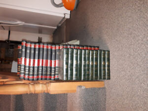 Collier'sEncyclopedia complete set and classic story books free