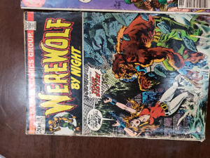 I have four comics for sale make me an offer very old