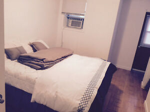 Downtown 3 1/2 apartment, fully furnished, close to Guy