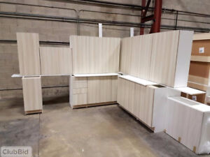 13 cabinets 'L shaped'  Full Kitchen Blow out- Brand New