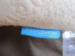 matelas mousse mémoire (Sleep Comfort)