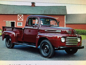 Wanted Box for 1948 Ford Three Quarter Ton