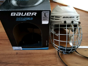 Casque hockey adulte