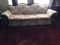 French Provincial Couch and Chair 250 for both