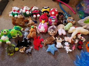 Stuffed animals for sale in time for Christmas!