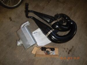 slp twin pipes and silencer for 2004 700 firecat