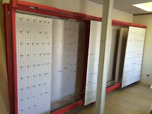 Pegboard Display Unit Store Fixture
