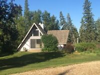 5.89ac almost in red deer WITH 2684sqft home and new SHOP
