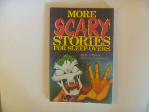 MORE SCARY STORIES For Sleep-Overs by Q. L. Pearce