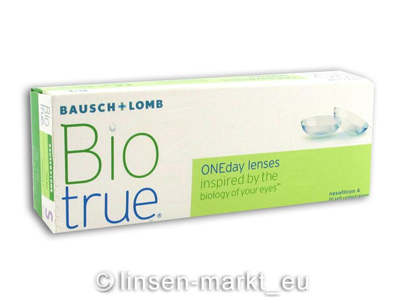 Biotrue ONEday - Bausch&Lomb - 1 x 30 Stück - Tageslinsen Neu&OVP