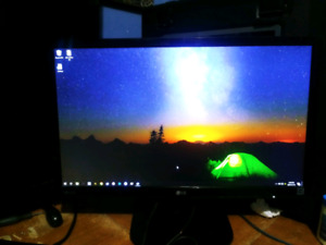 "22"" 1080p IPS 4ms LED LG Monitor"