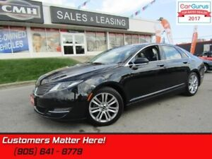 2014 Lincoln MKZ   AWD, NAVIGATION,  SUNROOF, LEATHER