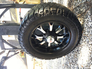 """Rims and Tires! 20"""" RBP Rims w/ 33"""" Micky Thompson's"""