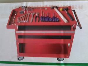 Tools and rolling storage unit