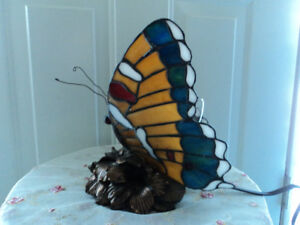 Vintage Butterfly Lamp