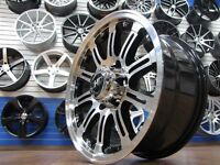 17 Inch Fast HD Wheels Black With Machine Face 6x139.7 SALE