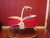 Baby basket/bouncer from Tiny Love (works as Moses basket)