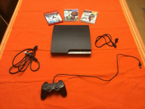 Used Playstation 3 Console - plus some additional games