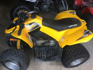 Rolled 2011 Can Am DS 90