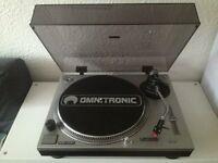 Omnitronic DJ Turntables / decks & Numark mixer - similar to Technics
