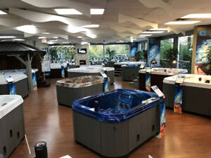 Spring Hot Tub Sale -- FACTORY SHOWROOM!