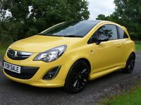Vauxhall Corsa 1.2 Limited Edition (yellow) 0000
