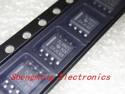 20pcs Tl082cdr Tl082c Sop-8 Ic Original Ti