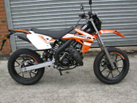 Rieju MRT 50cc SM Supermoto-Road brand new 1 only at this price