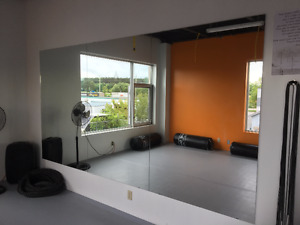 Mirrors for Studio or Gym