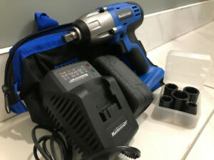 MasterCraft Cordless   Impact Wrench    Set