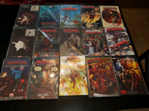 Deadpool complete collection marvel comic book