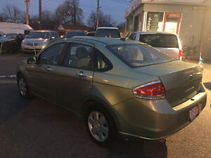 2008 Ford Focus Sedan SE Low Kms