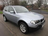 BMW X3 2.0d 6 SPEED SE PANORAMIC SUNROOF GREAT VALUE READY TO DRIVE AWAY