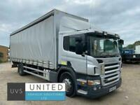 Scania P-SRS D-CLASS p270 2008 18 ton Curtian side with tail lift opti cruise