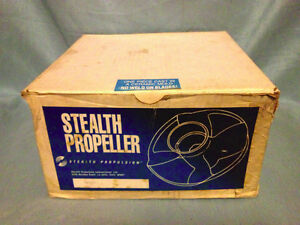 ★ Stealth RING PROP , 10 Splines, 10-30hp, New in Box ★