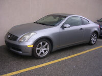 2003 Infiniti G35 COUPE Coupe (2 door)-ONE OWNER-- AUTO